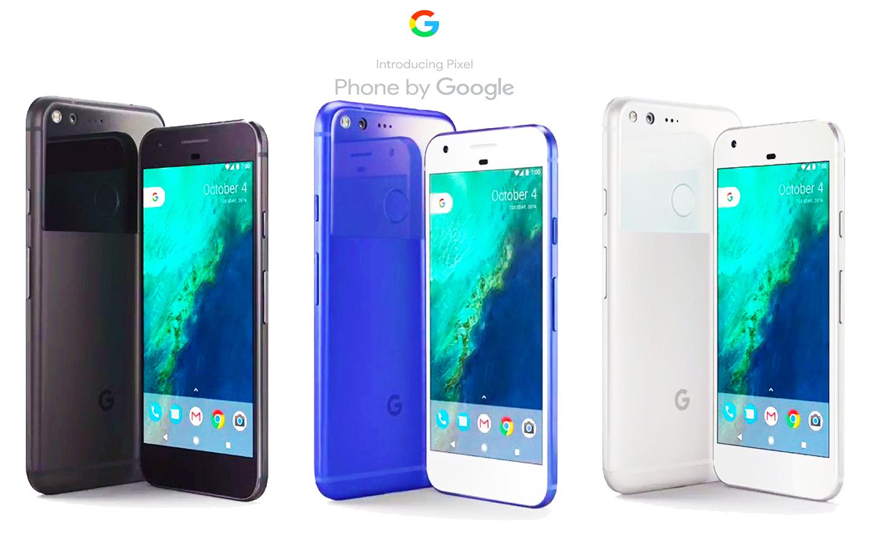 Google pixel و Google pixel xl