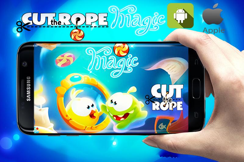 تحميل لعبة cut the rope : the magic للاندرويد والأيفون: