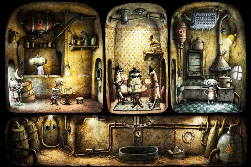 تحميل لعبة machinarium كاملة للاندرويد مجانا وبرابط واحد