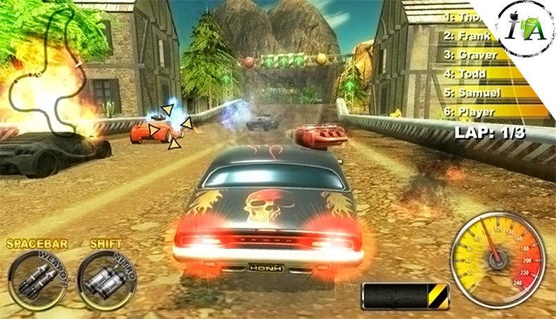 تحميل لعبة Lethal brutal Racing للكومبيوتر