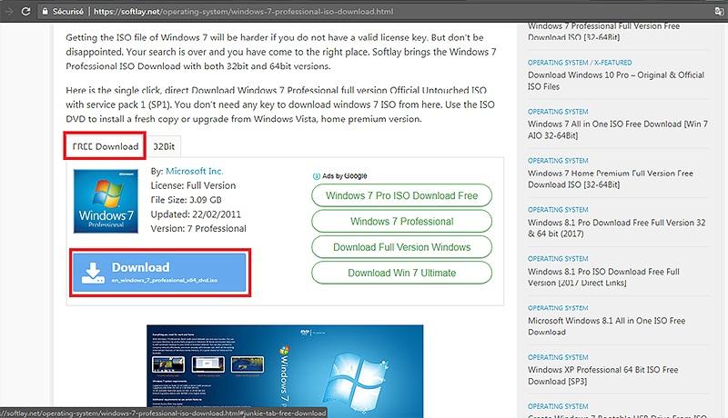 تحميل ويندوز windows 7, 10 مضغوظ iso 32bit/64bit بروابط مباشرة