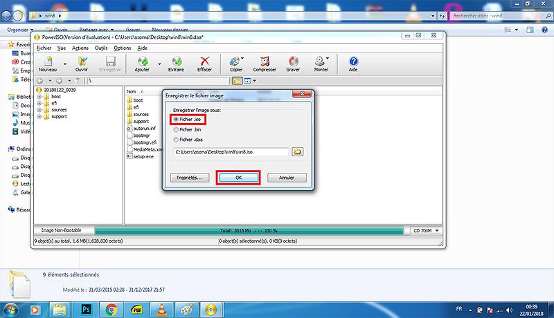 الطريقة الصحيحة لتحويل ملفات ( ويندوز) الى iso عن طريق برنامج PowerIso