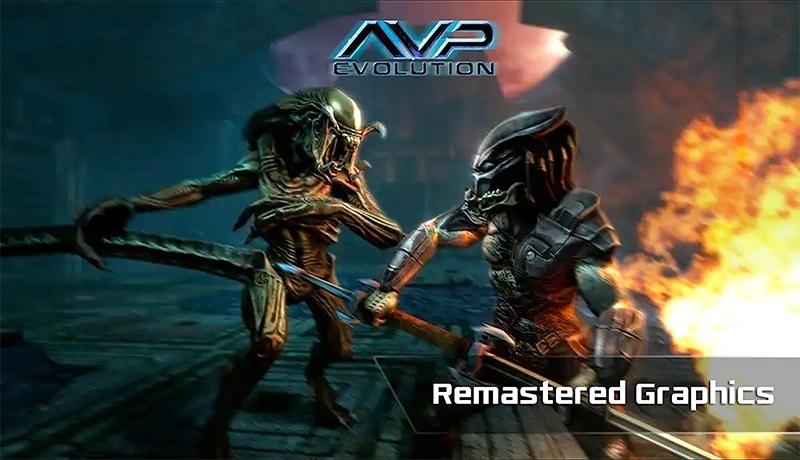 تحميل لعبة الاكشن والإثارة AVP evolution  apk للاندرويد والايفون