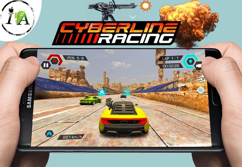 تحميل لعبة حرب السباقات cyberline racing الرهيبة والأكثر من رائعة للاندرويد
