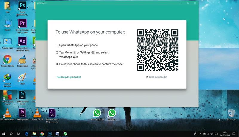 تحميل برنامج الوتساب للكمبيوتر