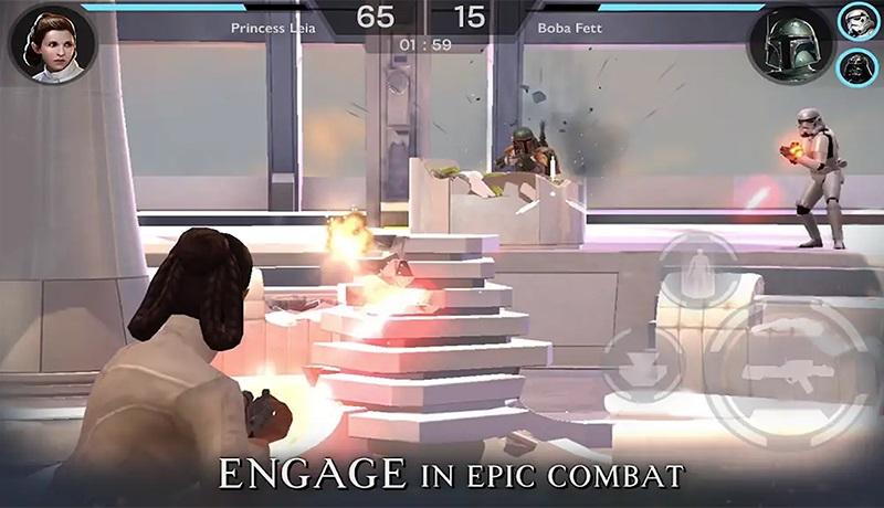 تحميل لعبة star wars rivals للاندرويد قبل الاصدار الرسمي للعبة