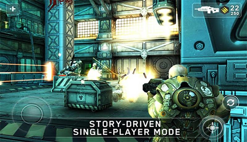 تحميل لعبة shadowgun للاندرويد| افضل لعبة اكشن بحجم 300mb