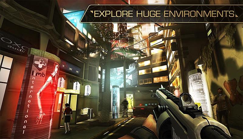 تحميل لعبة Deus Ex The Fall للاندرويد