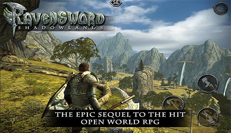 تحميل لعبة Ravensword: Shadowlands للاندرويد