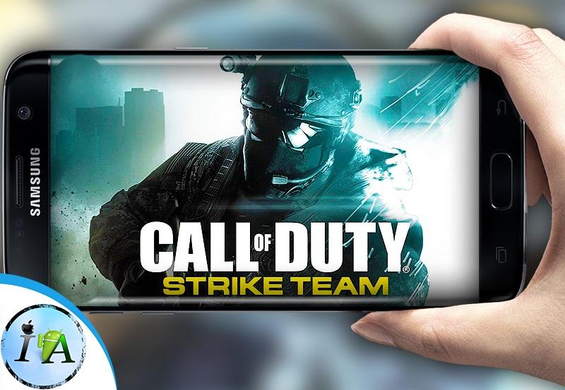 تحميل لعبة call of duty strike team للاندرويد