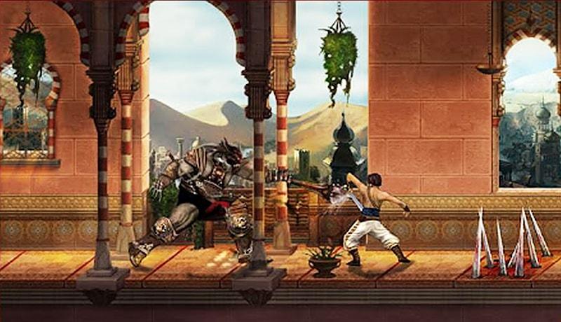 تحميل لعبة Prince of Persia Classic  للاندرويد برابط مباشر من مديا فاير
