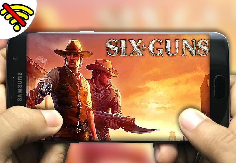 تحميل لعبة Six Guns Gang Showdown apk data للاندرويد