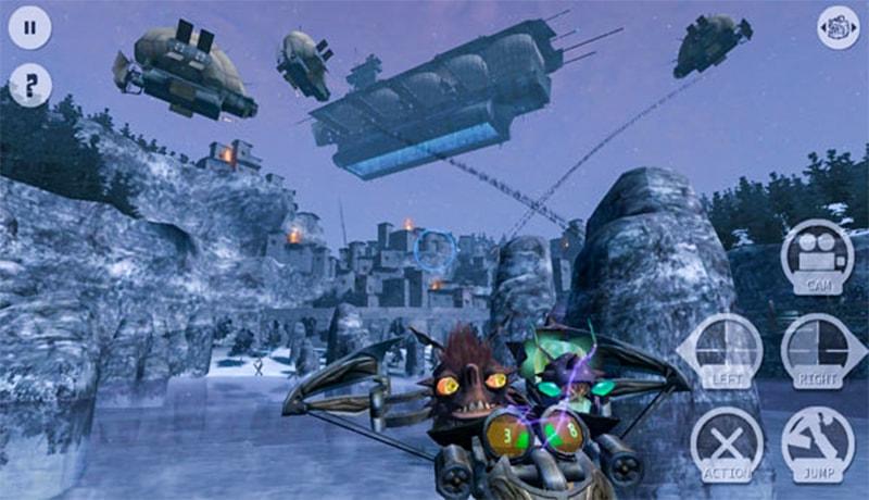 تحميل Oddworld: Stranger's Wrath  Apk + Data  للاندرويد