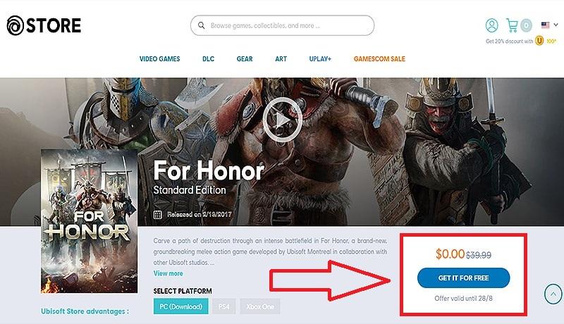 شركة ubisoft تهدي لعبة مجانية خرافية للكومبيوتر لفترة محدودة -أخبار الألعاب