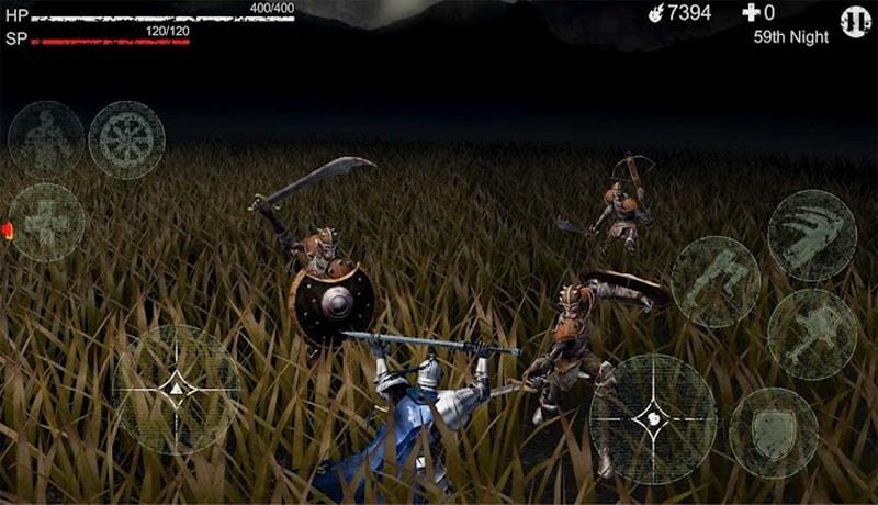 تحميل لعبة الاكشن والاثارة الأكثر من رائعة Revenant Knight apk+ obb للاندرويد