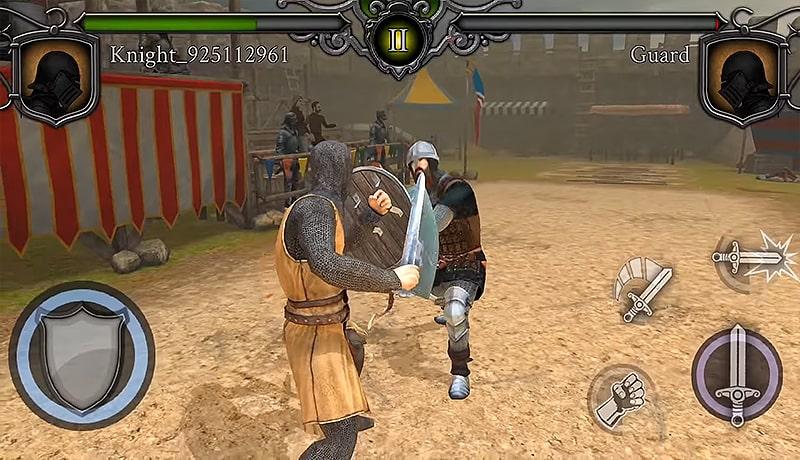 تحميل لعبة Knights Fight: Medieval Arena APK + obb للاندرويد