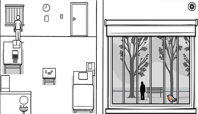 تحميل لعبة the white door للاندرويد