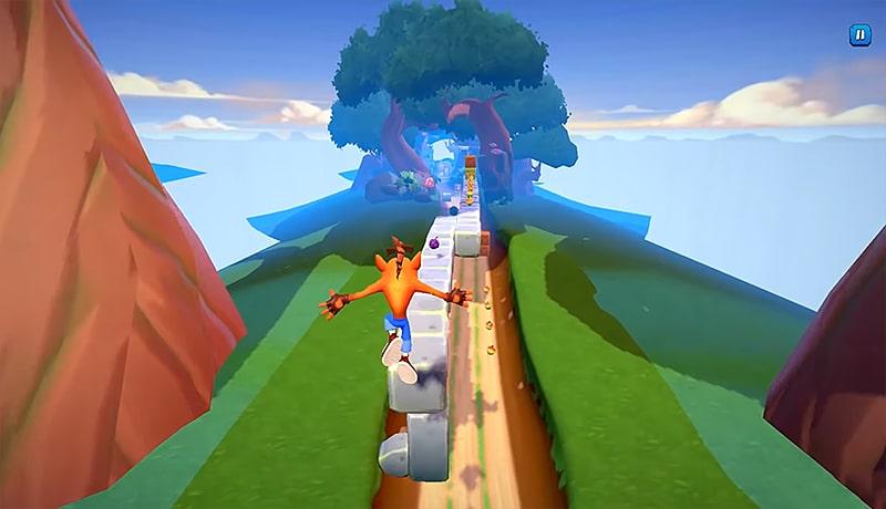 تحميل لعبة Crash Bandicoot Mobile للأندرويد