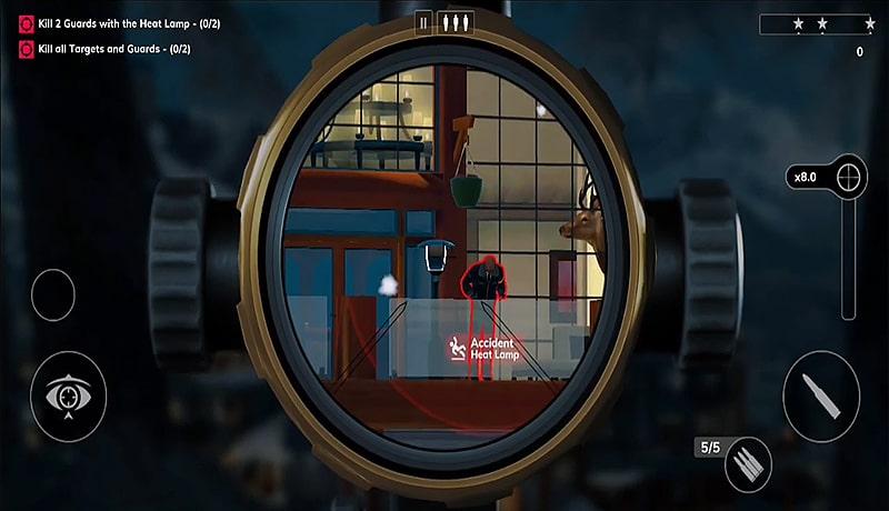 تحميل لعبة HITMAN SNIPER 2 apk للاندرويد